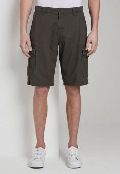 Шорты, Tom Tailor, цвет: серый. Артикул: TO172EMIBAM6. Одежда / Шорты