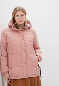 Куртка утепленная, Tom Tailor, цвет: розовый. Артикул: TO172EWGBKQ7. Одежда / Верхняя одежда / Демисезонные куртки