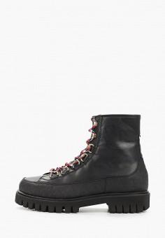 Ботинки, Tommy Hilfiger, цвет: черный. Артикул: TO263AMHLDL3. Обувь / Ботинки / Высокие ботинки