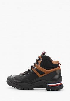 Ботинки, Tommy Hilfiger, цвет: черный. Артикул: TO263AMHLDL7. Обувь / Ботинки / Высокие ботинки