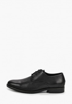 Туфли, Tommy Hilfiger, цвет: черный. Артикул: TO263AMJAVA7.