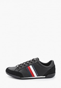 Кроссовки, Tommy Hilfiger, цвет: черный. Артикул: TO263AMJAVB0.
