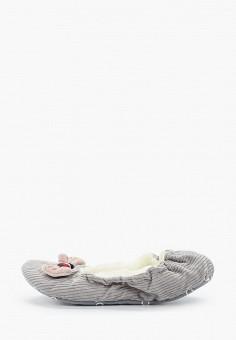 Тапочки, Tommy Hilfiger, цвет: серый. Артикул: TO263AWHLUR0. Обувь / Домашняя обувь