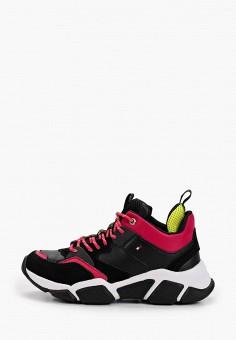 Кроссовки, Tommy Hilfiger, цвет: черный. Артикул: TO263AWHLUS9. Обувь / Кроссовки и кеды