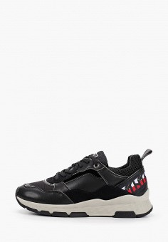 Кроссовки, Tommy Hilfiger, цвет: черный. Артикул: TO263AWHLUT1.