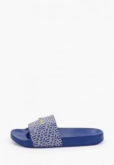 Сланцы, Tommy Hilfiger, цвет: синий. Артикул: TO263AWHVDI4. Обувь / Резиновая обувь