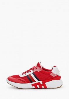 Кроссовки, Tommy Hilfiger, цвет: красный. Артикул: TO263AWHVDL7.