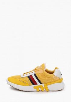 Кроссовки, Tommy Hilfiger, цвет: желтый. Артикул: TO263AWHVDL8.