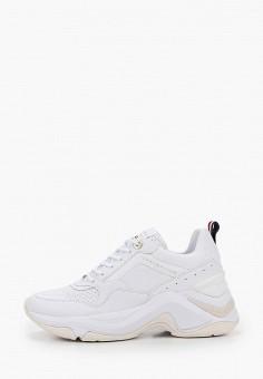 Кроссовки, Tommy Hilfiger, цвет: белый. Артикул: TO263AWIYWQ0.