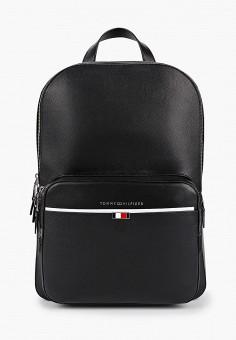 Рюкзак, Tommy Hilfiger, цвет: черный. Артикул: TO263BMHXLQ7. Аксессуары / Рюкзаки