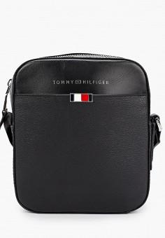 Сумка, Tommy Hilfiger, цвет: черный. Артикул: TO263BMHXLQ9.