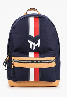 Рюкзак, Tommy Hilfiger, цвет: синий. Артикул: TO263BMHXLT4. Аксессуары / Рюкзаки