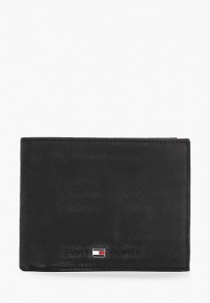 Кошелек, Tommy Hilfiger, цвет: черный. Артикул: TO263BMHXMP0. Аксессуары