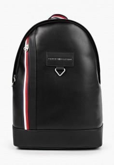 Рюкзак, Tommy Hilfiger, цвет: черный. Артикул: TO263BMIYVZ8. Аксессуары / Рюкзаки