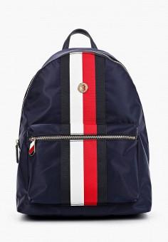 Рюкзак, Tommy Hilfiger, цвет: синий. Артикул: TO263BWHXML2. Аксессуары / Рюкзаки