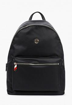 Рюкзак, Tommy Hilfiger, цвет: черный. Артикул: TO263BWHXML3. Аксессуары / Рюкзаки / Рюкзаки