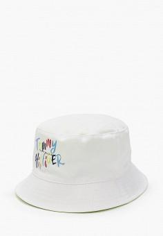 Панама, Tommy Hilfiger, цвет: белый. Артикул: TO263CGIBPE8. Девочкам / Аксессуары