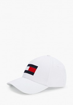 Бейсболка, Tommy Hilfiger, цвет: белый. Артикул: TO263CMHXLO6.