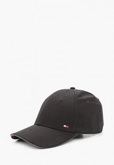 Бейсболка, Tommy Hilfiger, цвет: черный. Артикул: TO263CMIYVZ2. Аксессуары / Головные уборы
