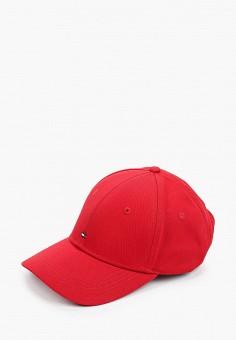 Бейсболка, Tommy Hilfiger, цвет: красный. Артикул: TO263CWHXMQ1. Аксессуары / Головные уборы