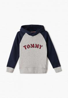 Худи, Tommy Hilfiger, цвет: серый. Артикул: TO263EBIBPA2.