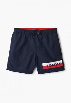 Шорты для плавания, Tommy Hilfiger, цвет: синий. Артикул: TO263EBIBRI9.