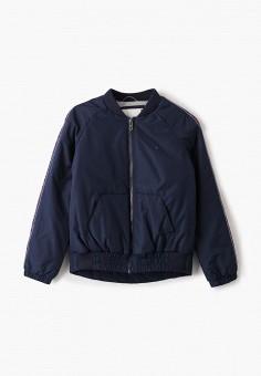 Куртка утепленная, Tommy Hilfiger, цвет: синий. Артикул: TO263EGIBPC6. Девочкам / Одежда / Верхняя одежда / Куртки и пуховики