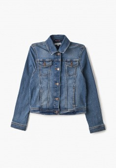 Куртка джинсовая, Tommy Hilfiger, цвет: синий. Артикул: TO263EGIBRG3.
