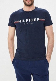 Футболка, Tommy Hilfiger, цвет: синий. Артикул: TO263EMEBQY9. Tommy Hilfiger
