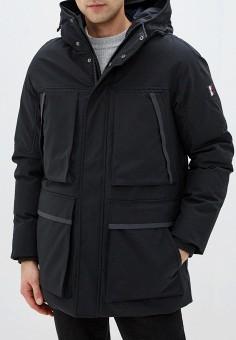 Куртка утепленная, Tommy Hilfiger, цвет: черный. Артикул: TO263EMFVVO2. Одежда / Верхняя одежда / Пуховики и зимние куртки / Зимние куртки