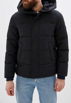 Куртка утепленная, Tommy Hilfiger, цвет: черный. Артикул: TO263EMFVWK5. Одежда / Верхняя одежда / Пуховики и зимние куртки / Зимние куртки