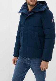 Куртка утепленная, Tommy Hilfiger, цвет: синий. Артикул: TO263EMFVWK6. Одежда / Верхняя одежда / Пуховики и зимние куртки / Зимние куртки