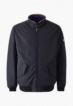 Пуховик, Tommy Hilfiger, цвет: черный. Артикул: TO263EMFYOF8. Одежда / Верхняя одежда / Пуховики и зимние куртки