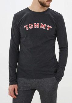 Лонгслив домашний, Tommy Hilfiger, цвет: серый. Артикул: TO263EMGEND2. Одежда / Домашняя одежда