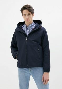 Куртка утепленная, Tommy Hilfiger, цвет: синий. Артикул: TO263EMHKTA3. Одежда / Верхняя одежда / Демисезонные куртки