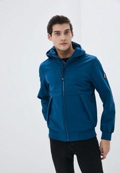 Куртка, Tommy Hilfiger, цвет: синий. Артикул: TO263EMHKTD3. Одежда / Верхняя одежда / Демисезонные куртки