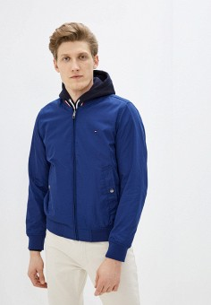 Куртка, Tommy Hilfiger, цвет: синий. Артикул: TO263EMHUZQ5.