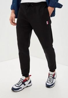Брюки спортивные, Tommy Hilfiger, цвет: черный. Артикул: TO263EMHVBO3.