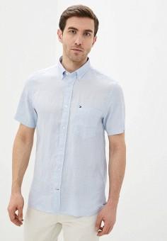 Рубашка, Tommy Hilfiger, цвет: голубой. Артикул: TO263EMHVBR2.