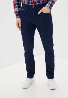 Джинсы, Tommy Hilfiger, цвет: синий. Артикул: TO263EMHVBT1. Одежда / Джинсы / Прямые джинсы
