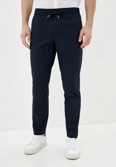 Брюки спортивные, Tommy Hilfiger, цвет: синий. Артикул: TO263EMHVBV5. Одежда / Брюки / Спортивные брюки