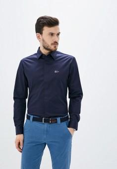 Рубашка, Tommy Hilfiger, цвет: синий. Артикул: TO263EMHVBY0.