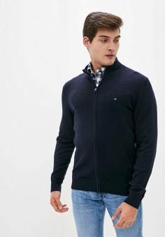 Кардиган, Tommy Hilfiger, цвет: синий. Артикул: TO263EMIVTW9. Одежда / Джемперы, свитеры и кардиганы / Кардиганы