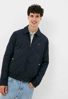Куртка утепленная, Tommy Hilfiger, цвет: синий. Артикул: TO263EMIVTX7.