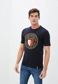 Футболка, Tommy Hilfiger, цвет: серый. Артикул: TO263EMIVUD7. Одежда / Футболки и поло
