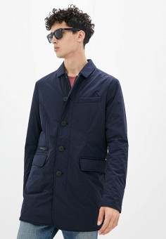 Куртка утепленная, Tommy Hilfiger, цвет: синий. Артикул: TO263EMIVUO4. Одежда / Верхняя одежда / Демисезонные куртки