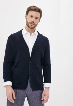 Кардиган, Tommy Hilfiger, цвет: синий. Артикул: TO263EMIVUP7. Одежда / Джемперы, свитеры и кардиганы / Кардиганы