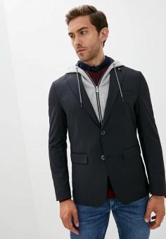 Пиджак, Tommy Hilfiger, цвет: синий. Артикул: TO263EMKBQI7.