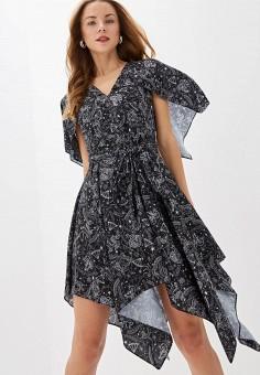 Платье, Tommy Hilfiger, цвет: черный. Артикул: TO263EWFJIV7. Одежда / Платья и сарафаны / Вечерние платья