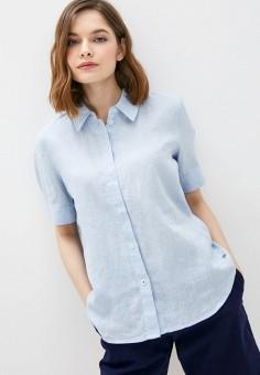 Рубашка, Tommy Hilfiger, цвет: голубой. Артикул: TO263EWHJPU6. Одежда / Блузы и рубашки / Рубашки